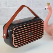 Caixa De Som Bluetooth Vintage X26