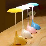 Luminária De Mesa USB Em formato de Elefante Touch Led