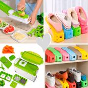 Organizador para Sapatos + Fatiador de Legumes Kit