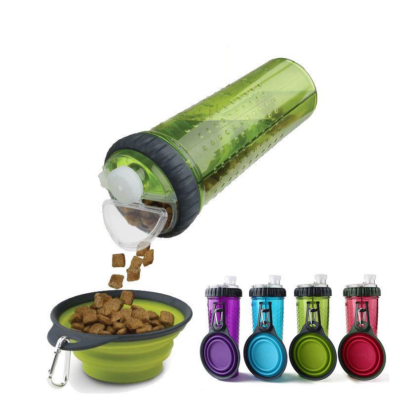Alimentador Portátil Para Pet  Água e Ração
