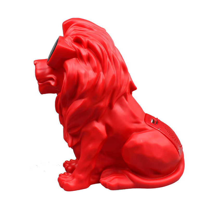 Caixa De Som Bluetooth Leão Vermelho 1908