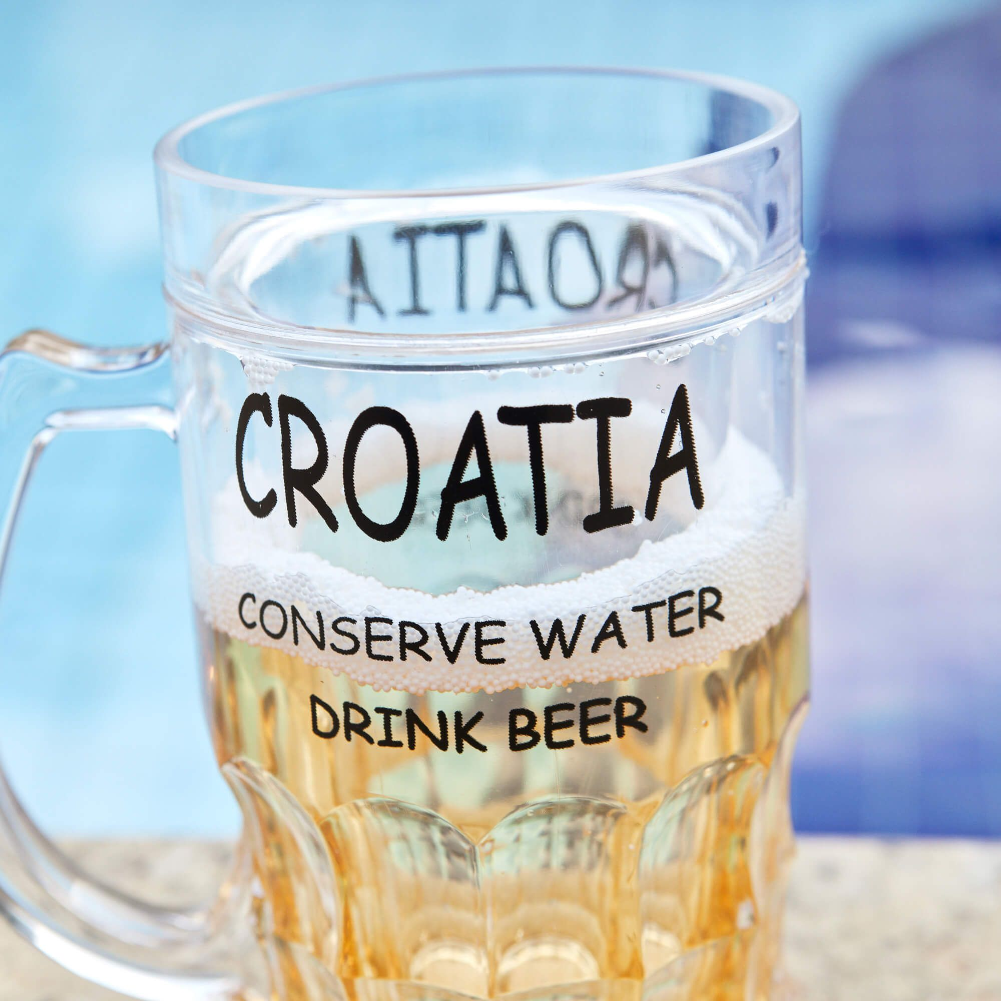 Caneca Croatia Para Cerveja REF 2466
