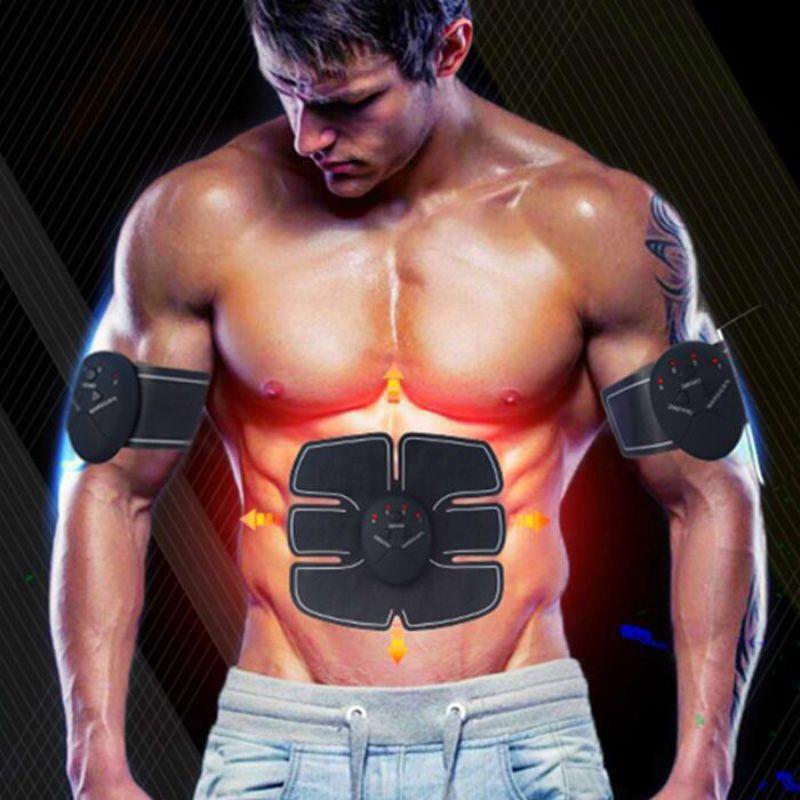 Cinta Tonificadora Elétrica para Abdômen e Bíceps.