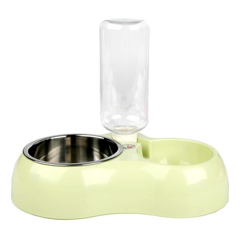 Conjunto PET para água e ração com dosador