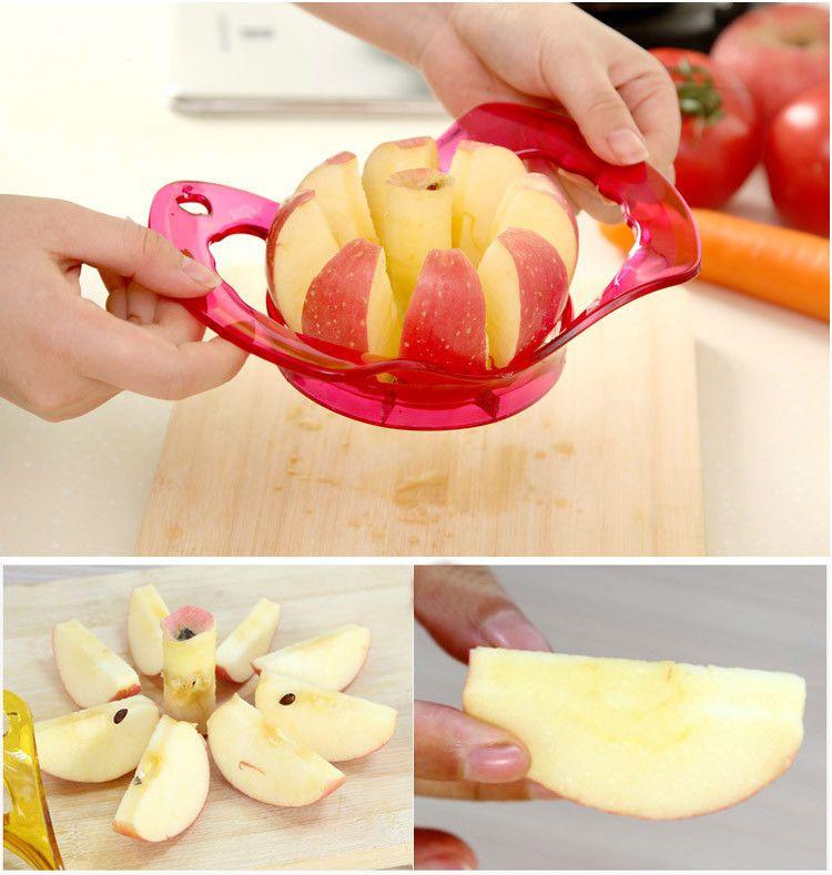 Cortador E Fatiador De Frutas Para Maça E Pera Tira Miolo