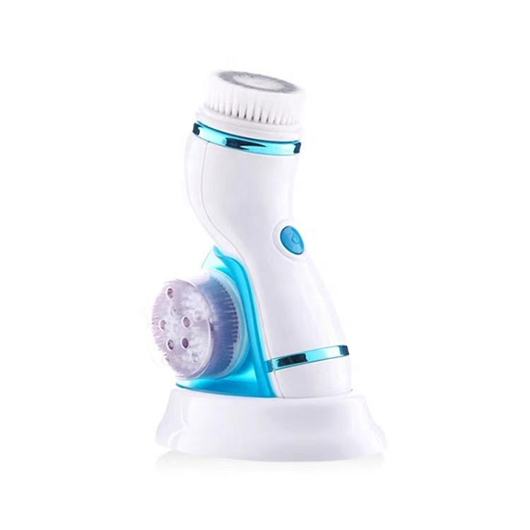 Escova de limpeza facial recarregável