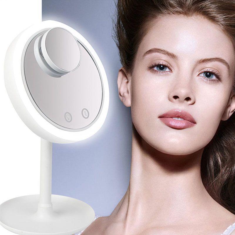 Espelho Com Led Para Maquiagem