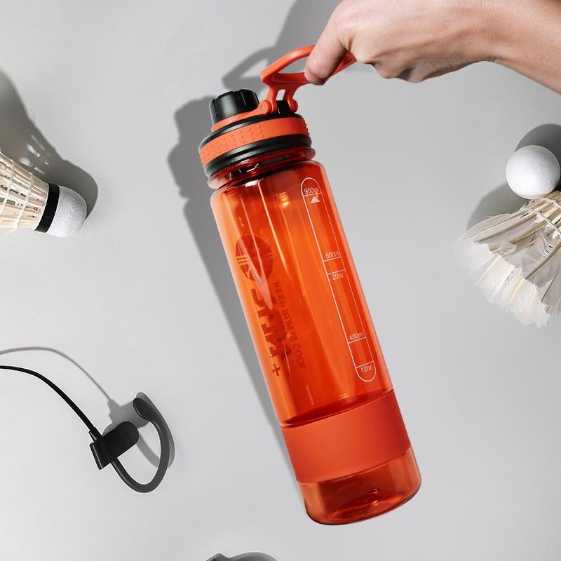 Garrafa De Água Para Academia Squeeze Fitness 900ML