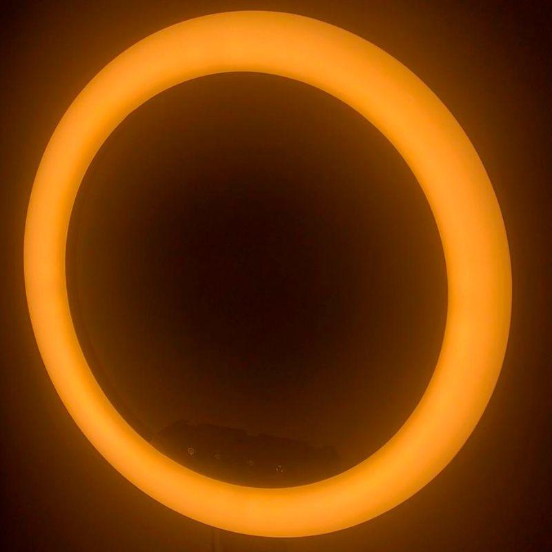 Iluminador Ring Ligth Anel Luz 45cm Com Tripé
