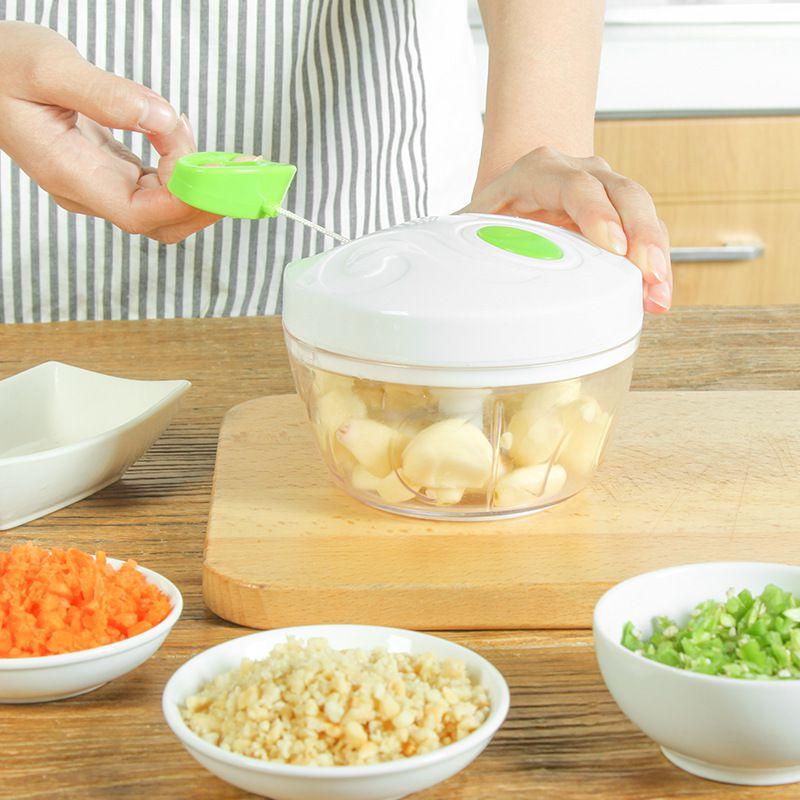 Formas de Silicone Para Cozinhar Ovos + Processador Manual de Alimentos