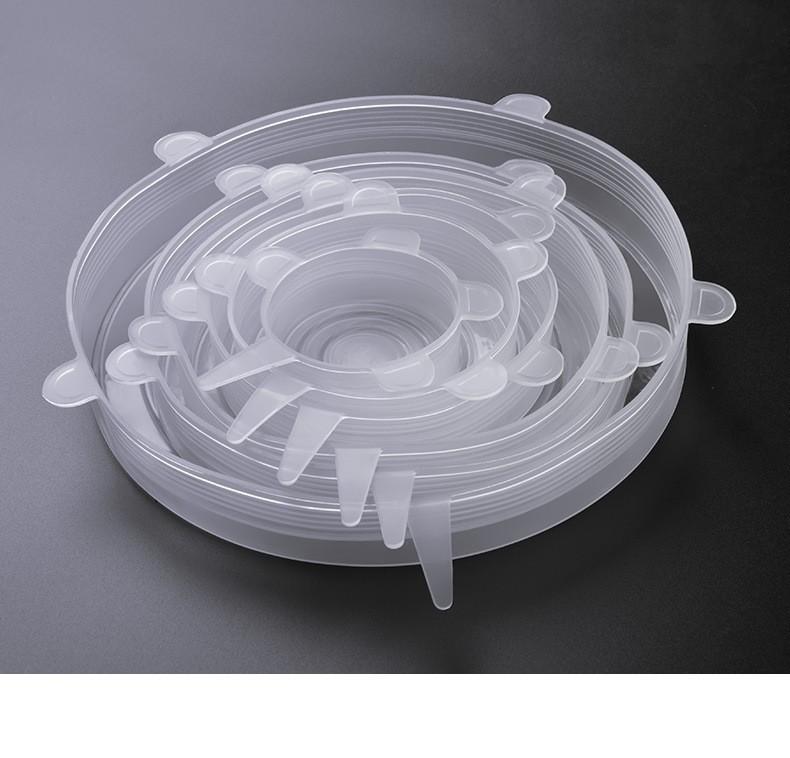 Kit de Tampas De Silicone 6 Unidades