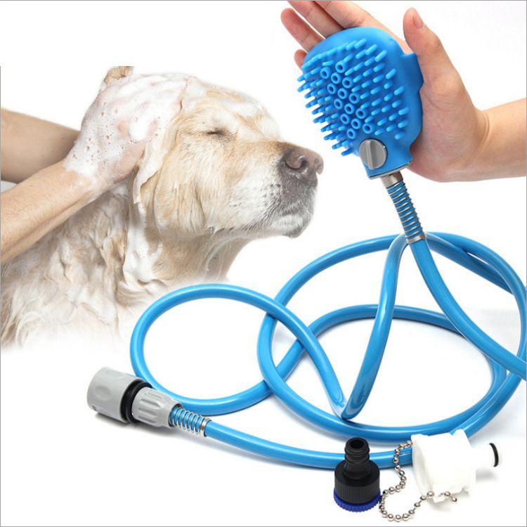 Luva Spray Higiênica para Banho Pet - Cães e Gatos
