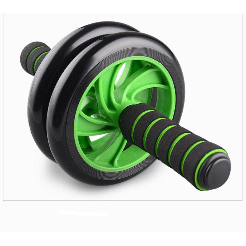 Roda Rolo Para Exercicio Abdominal Fitness Crossfit