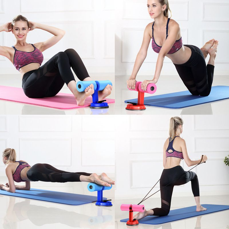 Suporte Para Exercícios Abdominais com Ventosa