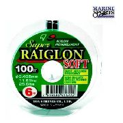 Linha Marine Sports Super Raiglon Soft 0,37 mm (100 m)