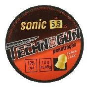 Chumbinho Technogun Sonic 5,5 Mm (125 Un) - 5.5 Mm