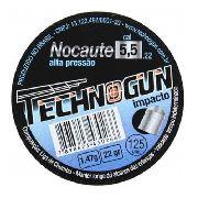 Chumbinho Nocaute 5.5 Mm (125 Un.) - Technogun