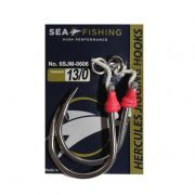 Assist Hook Slow Jigging Sea Fishing Montado c/ Split (2 Pares)