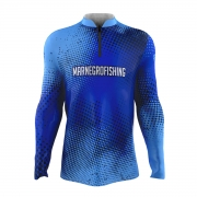 Camiseta de Pesca Mar Negro 2021 Clean Azul