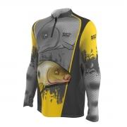Camiseta de Pesca Mar Negro 2021 Piapara