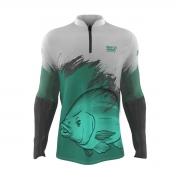 Camiseta de Pesca Mar Negro 2021 Tilapia