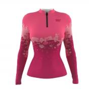 Camiseta Mar Negro Feminina 2021 Clean Rosa