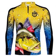 Camiseta King Fish KFF60 Tucunaré