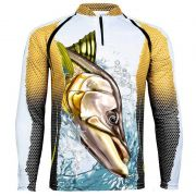 CAMISETA KING FISH KFF68 ROBALO