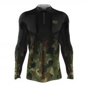 Camiseta Mar Negro 2021 Camuflado Degradê