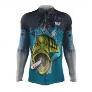 Camiseta Mar Negro 2021 Tucunaré Azul