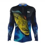Camiseta Mar Negro Infantil 2021 Tucunaré Azul 01