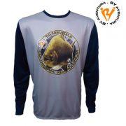Camiseta Ml Tambaqui Cinza G2