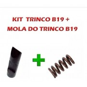 Kit Trinco E Mola Do Trinco P/ Carabina Cbc B19 Todas