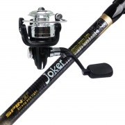Kit Vara Ultra Light Joker 2,40m + Molinete Elegance 800
