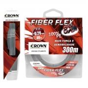 Linha Crown Multi Fiber Flex 8x 300m Cinza