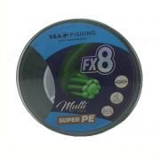 Linha FX8 Green Multifilamento Sea Fishing (500 m)