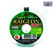 Linha Marine Sports Super Raiglon Soft 0,40 mm (100 m)