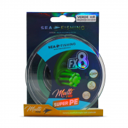 Linha FX8 Green 50 lbs Multifilamento Sea Fishing  (300 m)
