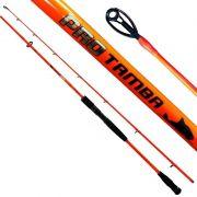Vara Saint Pro Tamba Orange P/ Carretilha 2,40 m 50 lbs (2 partes)