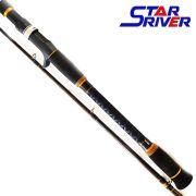 Vara Star River Carisma GTO p/ Carretilha 2,40 m 45 lbs (2 partes)