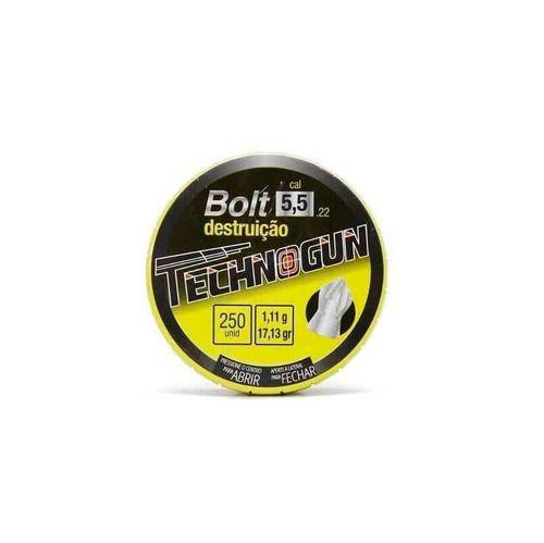 Chumbinho Bolt 5.5 Mm Master (250 un.) - Technogun  - Pró Pesca Shop