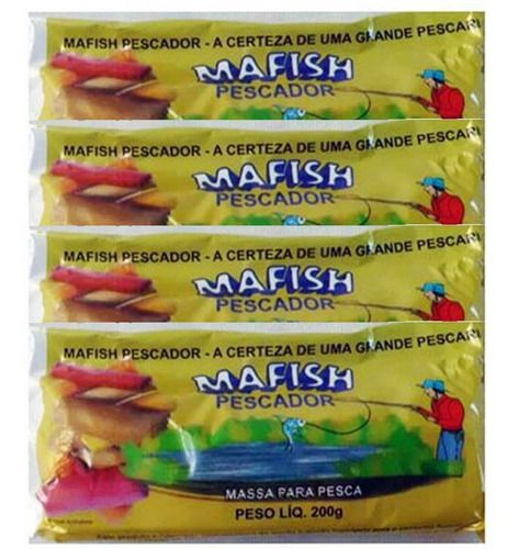 Kit 4 Mafish Vermelhas  - Pró Pesca Shop