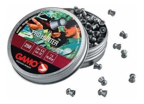 Chumbinho Technogun Sonic Gold 5,5 Mm (250 Un)  - Pró Pesca Shop