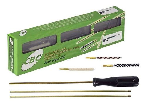 Kit Limpeza Cbc Carabinas Calibre 6,0 Mm  - Pró Pesca Shop