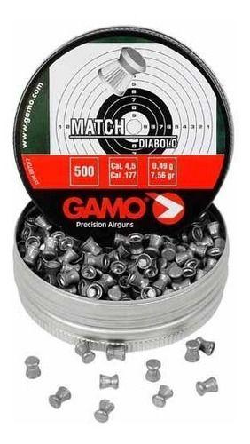 Chumbinho Gamo Match (5,5 Mm)  - Pró Pesca Shop