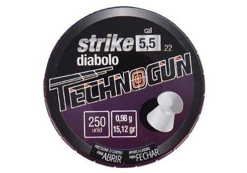 Chumbinho Technogun Strike 5.5 Mm (250 Un)