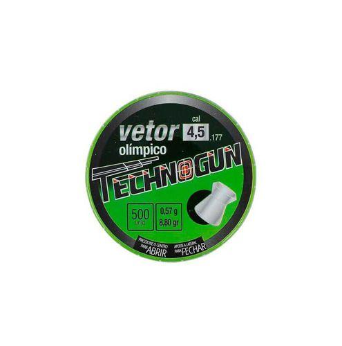 Chumbinho Vetor 4.5 Mm Master (500 Un.) - Technogun  - Pró Pesca Shop