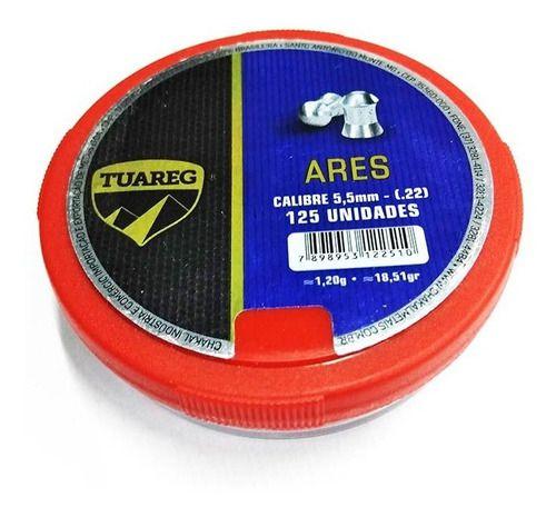 Chumbinho Ares Calibre 5.5 Mm Chakal  - Pró Pesca Shop