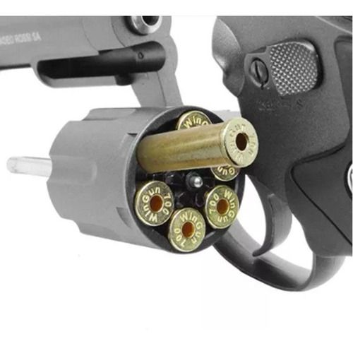 Revolver Airsoft Wingun Metal 701 4 Pol Co2 6mm  - Pró Pesca Shop