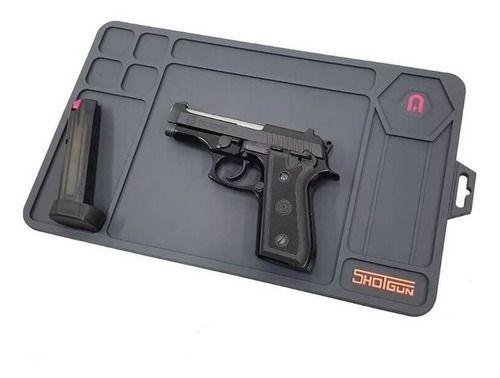 Base Emborracha P/ Manutenção Armas Gunpad Operator Shotgun